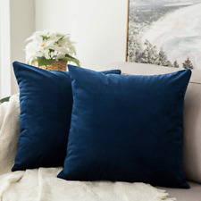 MIULEE Pack of 2 Velvet Soft Decorative Square Throw Pillow Case Cushion Covers
