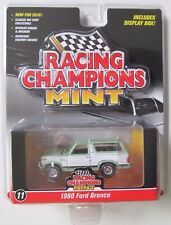 2016 RACING CHAMPIONS MINT EDITION 1980 FORD BRONCO #11 Green & White