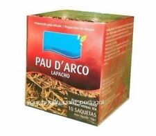 Pau d'Arco Lapacho Taheebo Herbal Tea 100% Natural - Immune System 1 Box 10 Bags