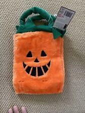 Halloween Furry Pumpkin Bag Waitrose