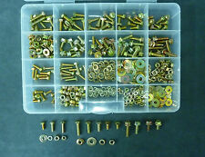 Yellow Zinc Metric Hex Head Bolt Set Porsche 928 911 944. 430 Pieces Grade 8.8