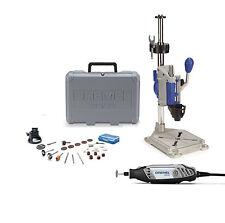 Dremel 3000 130W Corded Rotary Tool 26 Bits w Dremel Press Drill Workstation