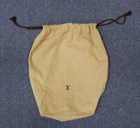 "Vintage Louis Vuitton Large 20""x16"" Drawstring Dust Bag Protection Storage Cover"