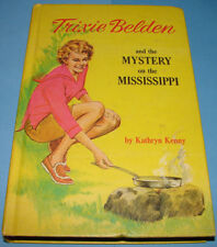 Trixie Belden #15 Mystery on the Mississippi Deluxe 1965