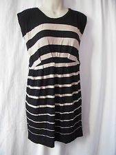 New Look Round Neck Striped Sleeveless Dresses for Women