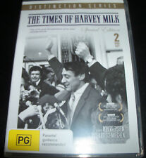 The Times Of Harvey Milk (Aust All Reg) Special Edition 2 DVD - Like New