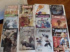 12 lot  POWER GIRL (DC COMICS 2009 SERIES) #6 15 17 18 19 20 21 22 23 24 25 & 26