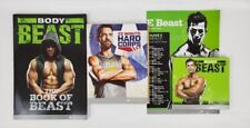 Beach Body Beast Hard Corps 22 Min Book Dvd Combo Set
