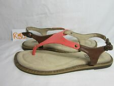 Women's Cliffs by White Mountain Venda Pink/Brown Shoes Sandals Size 7.5