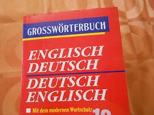 Buch Wörterbuch  Großwörterbuch Englisch Deutsch