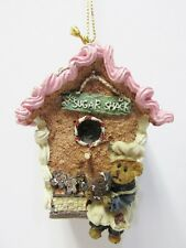 "Boyd's#654451 ""Ginger"" Sugar Shack Gingerbread House Ornament - New / Mint / Box"