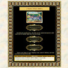 AUCTION TEMPLATE Greek Gold Border Frame Design - FREE SHIPPING