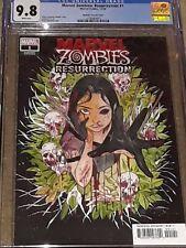 Marvel Zombies: Resurrection 1 MARVEL 2020   CGC 9.8 Peach 🍑Momoko 1:50 Variant