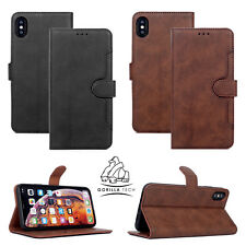 Flip Case with Magnetic Premium Closure Kickstand For All iPhones & samsung-New