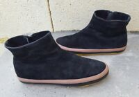 CAMPER WOMENS  BLACK SUEDE  ANKLE BOOTS SIZE  UK 6.5 EU 40  US 8.5