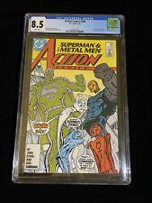 DC Comics Action Comics #590, 7/87, CGC 8.5 White Pages, 9022