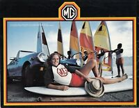MG Midget 1979 Car Dealer Sales Brochure - Original -  Cute Girl on Cover