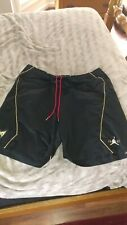 """Jordan 7 Shorts """"Golden Moments"""" Black Gold Rare 3XL XXXL"""