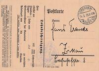 Postkarte verschickt von Dresden nach Zittau aus dem  Jahr 1925