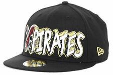 2c563415c4b Pittsburgh Pirates Men s New Era 59FIFTY MLB Baseball The Ice Hat Cap -  Black