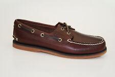 Timberland Classic 2-eye boat Shoes talla 41,5 us 8 vela zapatos caballero zapatos 25077