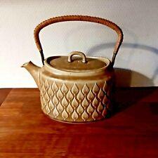 Large Oval TEA POT RELIEF Quistgaard Bing & Grondahl Kronjyden Denmark