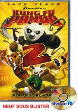 DVD : KUNG FU PANDA 2 - dessin animé Dreamworks - NEUF SOUS BLISTER