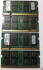 Kingston M12864E40 4GB (1GBX4) DDR2 SDRAM So-Dimm Memory Modules laptop PC