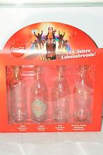 """Coca Cola Sammelflaschen """" 125 Jahre Lebensfreude! 2011"""