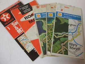 Vintage Motoring maps - 5 off