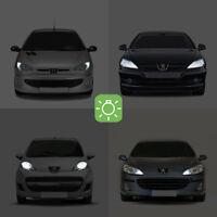 2 ampoules à  LED w5w / T10  blanc pour Peugeot 206 207 307 406 407 3008 4007