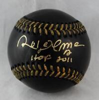 Roberto Alomar Autographed Rawlings OML Black Baseball w/ HOF - JSA W Auth