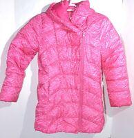 Gap Kids Girls Pink Winter Puffer Coat Size Large (10-11)