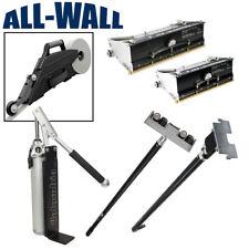 Columbia Taping Tools Drywall Flat Box Set w/Zunder Banjo, Pump, Corner Roller