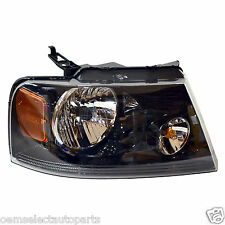 NEW 2004-2008 Ford F-150 Harley BLACK Housing RIGHT Lamp Light - Passenger's RH