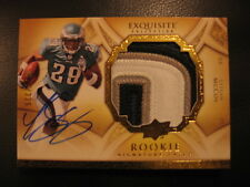 2009 UD Exquisite LeSean McCoy RC Auto Jumbo Jersey Patch /225 Buffalo Bills