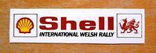 Shell International Welsh Rally Motorsport Sticker / Decal