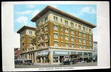 VISALIA CA ~ 1900's HOTEL JOHNSON ~ Gateway to Giant Forest