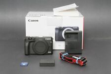 Canon EOS M3 24.2MP Mirrorless Camera Body Only, Black, Clean & Nice, Free Ship