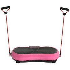 Vibration Platform Plate Whole Body Massager Machine Slim Exercise Fitness PINK