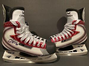 Patrick Kane Signed Bauer Vapor XXXX Skates 2009 Winter Classic AUTO Hockey NHL!