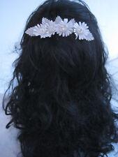 Kommunion Hochzeit  Haarschmuck  creme  Perlen
