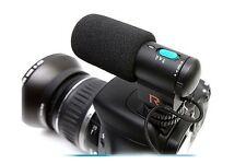 Mini External Stereo Microphone for Canon 5D 7D Mark III 6D 550D 60D 600D 650D