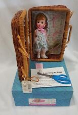 "Madame Alexander 8"" Wendy Loves Learning to Sew Doll with Basket #2"