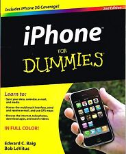 iPhone For Dummies by Edward C. Baig, Bob LeVitus (Paperback) NEW BOOK