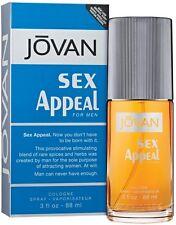 Sex Appeal by Jovan Cologne Spray for Men 3 oz (Pack of 4)