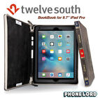 "Genuine Twelve South BookBook iPad Pro 9.7"" & iPad Air 2 Book leather case Brown"