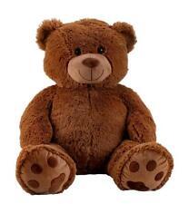 XXL Teddybär Dunkelbraun Bär 1m riesen groß Kuscheltier 100 cm Teddy Plüschtier