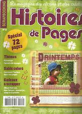 HISTOIRES DE PAGES N°10 PRINTEMPS / CARNETS DE VOYAGES / SABLE COLORE / ALBUM