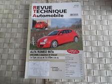 REVUE TECHNIQUE ALFA ROMEO MiTo ESSENCE et DIESEL (depuis 09/2008)